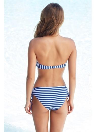 Pierre Cardin Straplez Bikini Renkli